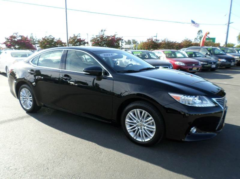 2014 LEXUS ES 350 BASE 4DR SEDAN black special only 32500 remaining factory warra