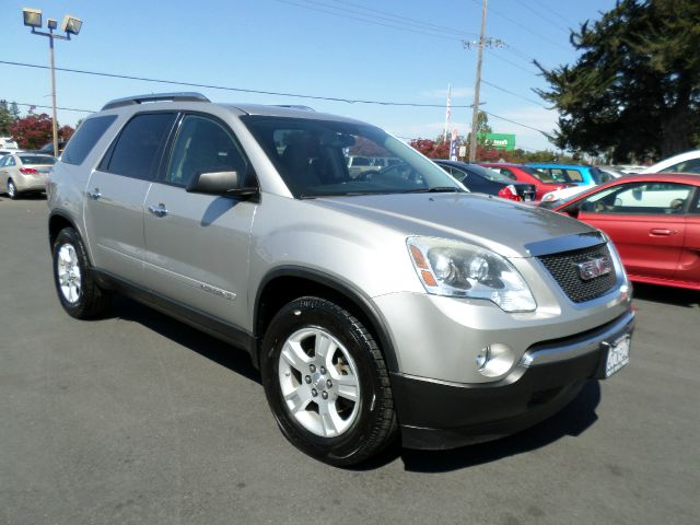 2008 GMC ACADIA SLE-1 4DR SUV silver 2-stage unlocking - remote 3rd row floor mats abs - 4-wheel