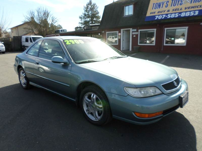 1999 ACURA CL 23 2DR COUPE light blue new tires abs - 4-wheel anti-theft system - alarm