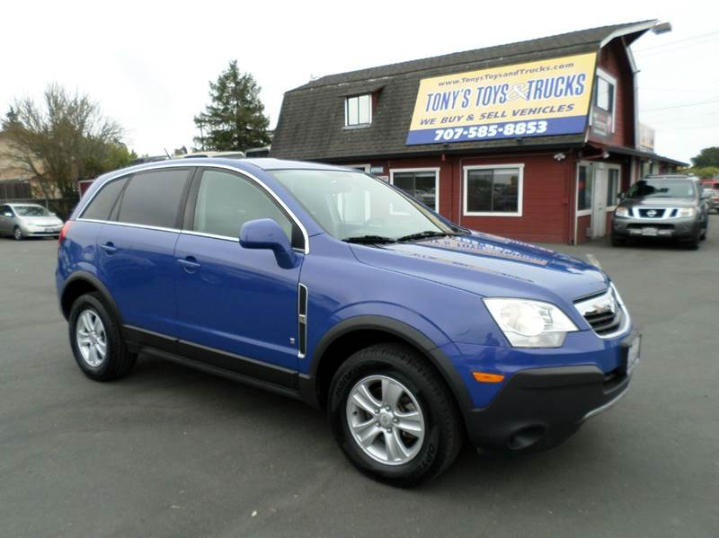 2008 SATURN VUE XE 4DR SUV blue one owner vehicle abs - 4-wheel airbag deactivation - occu