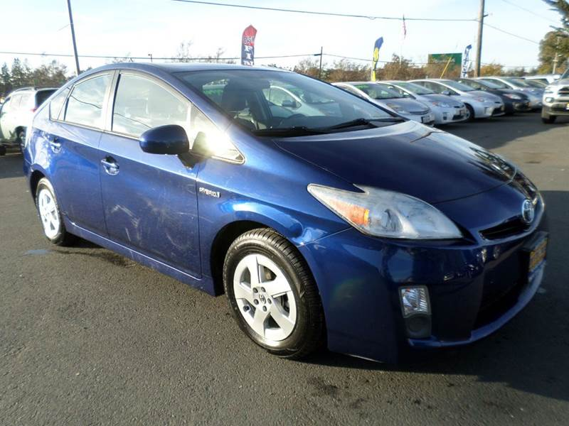 2011 TOYOTA PRIUS TWO 4DR HATCHBACK blue new tires abs - 4-wheel active head restraints -