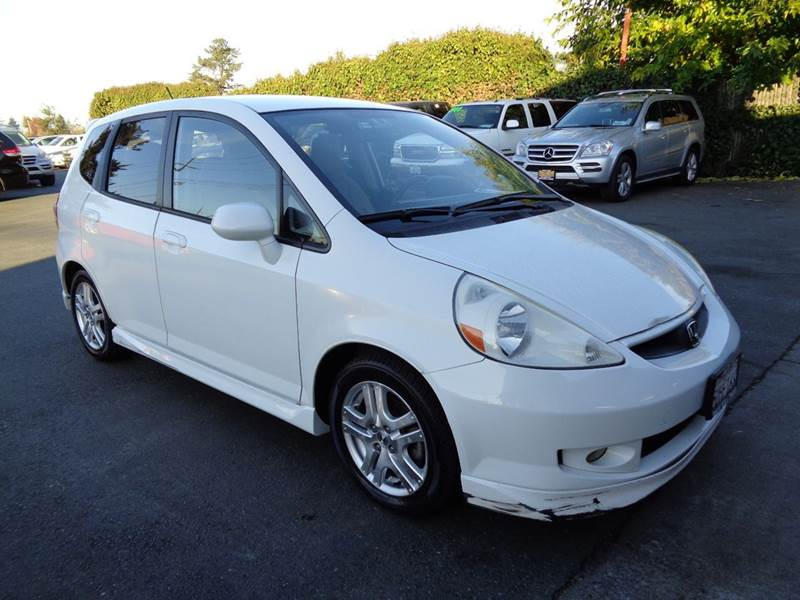 2007 HONDA FIT SPORT 4DR HATCHBACK 5M