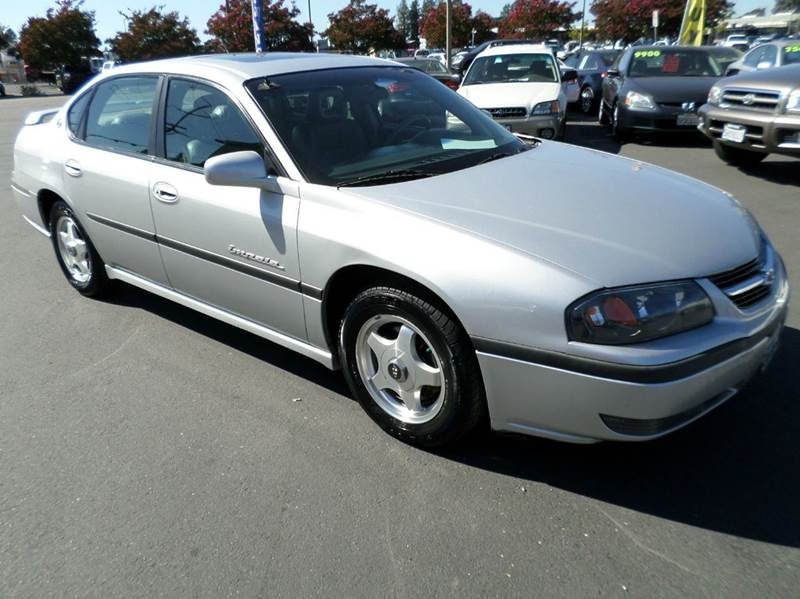 2001 CHEVROLET IMPALA LS 4DR SEDAN silver low mileage clean vehicleleather heated front se