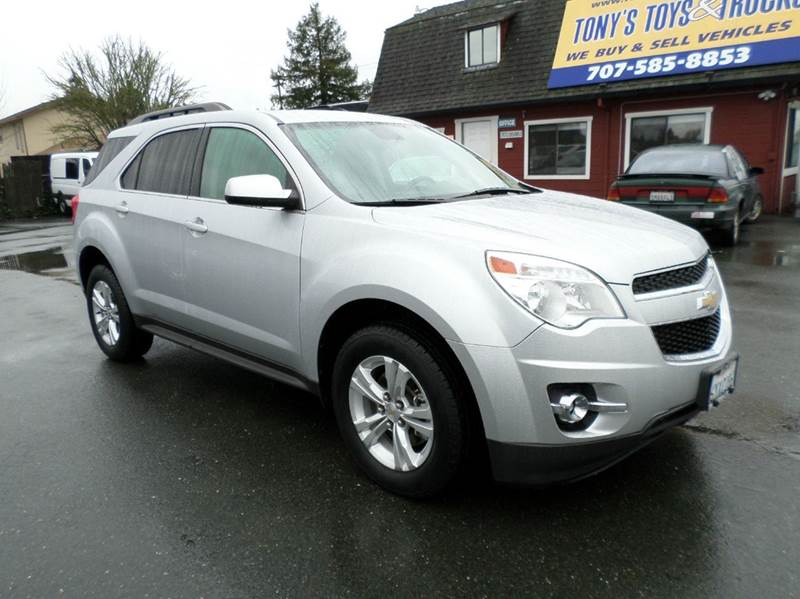 2012 CHEVROLET EQUINOX LT AWD 4DR SUV W 2LT silver 4wd type - full time abs - 4-wheel airbag d