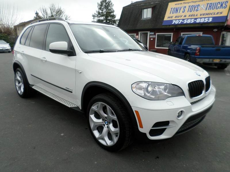 2012 BMW X5 XDRIVE35I SPORT ACTIVITY AWD 4DR white one owner clean suv 20 in alloy double