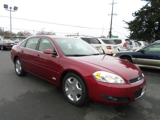 2006 CHEVROLET IMPALA SS 4DR SEDAN burgandy low mileage vehicle new tires ss 53l