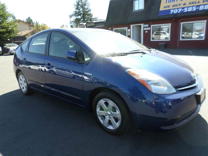 2008 TOYOTA PRIUS TOURING 4DR HATCHBACK blue one owner vehicleonly 64600 miles