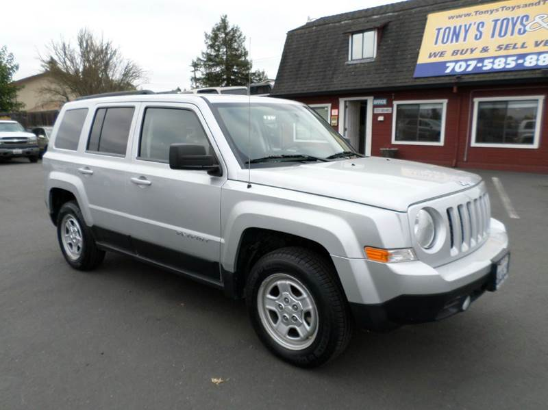 2011 JEEP PATRIOT SPORT 4X4 4DR SUV silver new tires 4x4 4wd type - on demand abs - 4-w