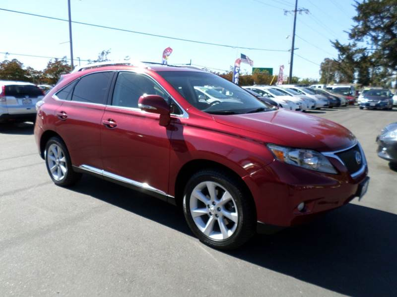 2012 LEXUS RX 350 BASE AWD 4DR SUV burgandy new tires 2-stage unlocking doors 4wd type - o