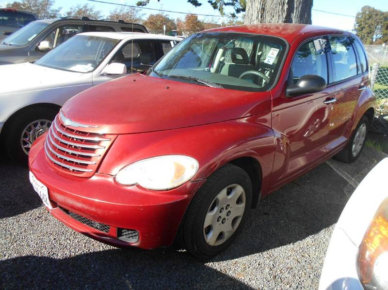 2007 CHRYSLER PT CRUISER 4DR WAGON red 2-stage unlocking doors airbag deactivation - occupant se