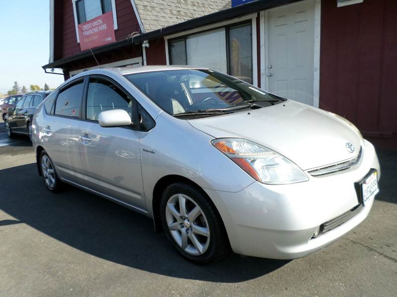 2008 TOYOTA PRIUS TOURING 4DR HATCHBACK silver new tiresback up camera leather 2-st