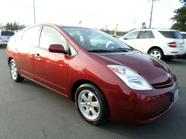 2005 TOYOTA PRIUS BASE 4DR HATCHBACK burgandy 1 owner vehicle abs - 4-wheel center conso
