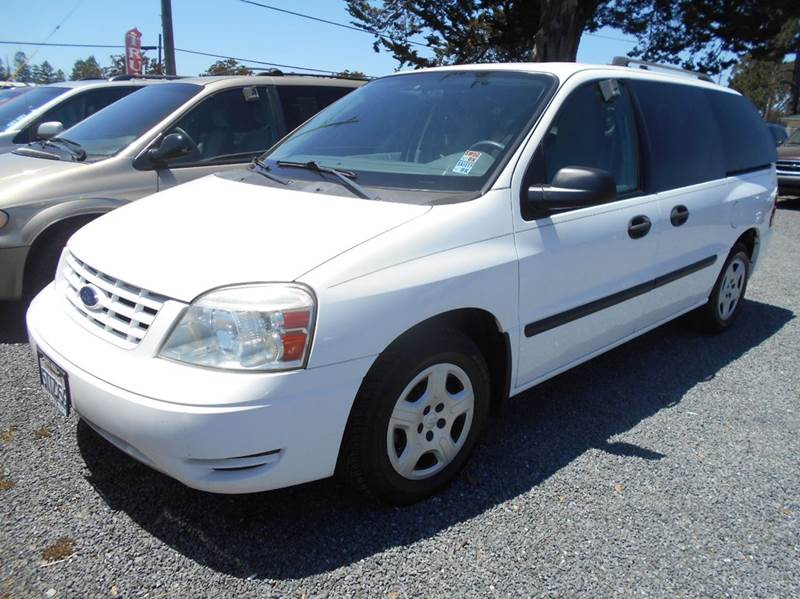 2007 FORD FREESTAR SE 4DR MINI VAN white 7pass mini-vanonly 50530 miles abs - 4-w
