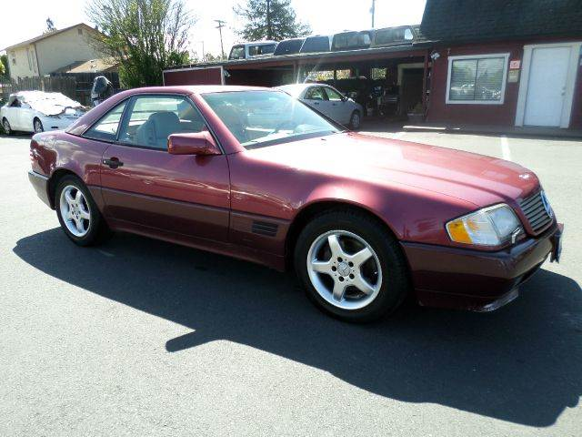 1992 MERCEDES-BENZ 300-CLASS 300SL 2DR CONVERTIBLE burgandy lots of services abs - 4-wheel a