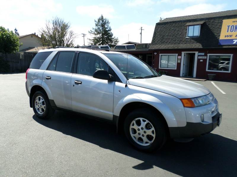2003 SATURN VUE BASE AWD 4DR SUV V6 silver 4-wheel abs anti-theft system - alarm center console