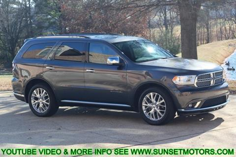 2015 Dodge Durango for sale in Milan, TN
