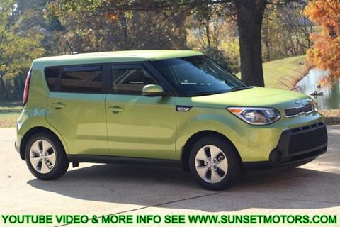 2015 Kia Soul for sale at SUNSET MOTORS INC in Milan TN