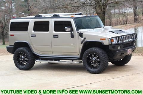 2005 HUMMER H2 for sale at SUNSET MOTORS INC in Milan TN