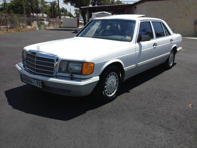 1990 mercedes benz s class 300sel in san antonio tx for Mercedes benz in san antonio