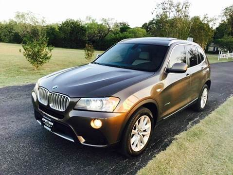 2013 BMW X3 for sale in San Antonio, TX