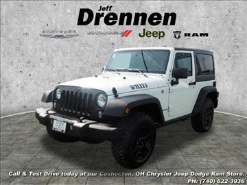 2017 Jeep Wrangler for sale in Coshocton, OH