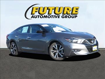 2016 Nissan Maxima for sale in Roseville, CA