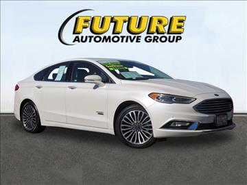 2017 Ford Fusion Energi for sale in Roseville, CA