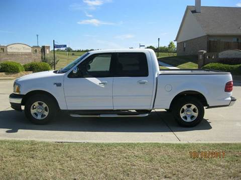 2002 Ford F-150 for sale in Weatherford, TX