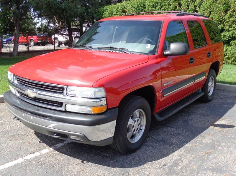 2002 chevrolet tahoe ls 4wd 4dr suv in boise id western auto sales