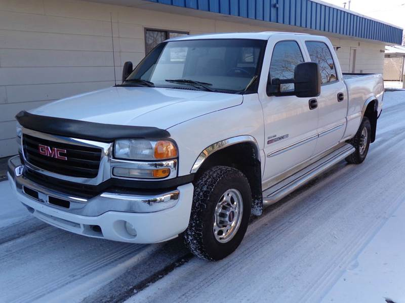 2006 gmc sierra 2500hd sle2 4dr crew cab 4wd sb in boise. Black Bedroom Furniture Sets. Home Design Ideas
