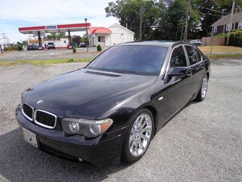 2002 BMW 7 Series for sale in Springfield, MA