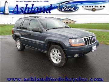 2001 Jeep Grand Cherokee for sale in Ashland, WI