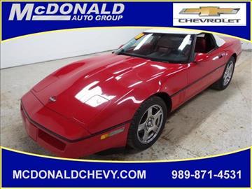1990 Chevrolet Corvette for sale in Millington, MI