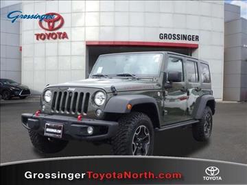 Grossinger Toyota North >> 2015 Jeep Wrangler For Sale - Carsforsale.com