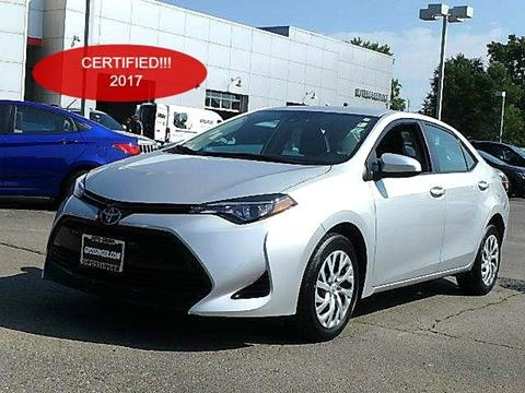 2017 Toyota Corolla for sale in Lincolnwood, IL