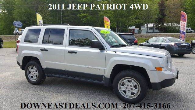 2011 Jeep Patriot Sport 4x4 4dr SUV - South Waterboro ME