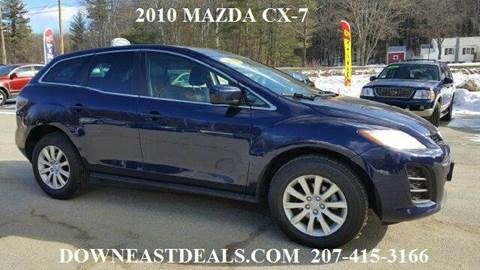 2010 mazda cx 7 for sale maine. Black Bedroom Furniture Sets. Home Design Ideas