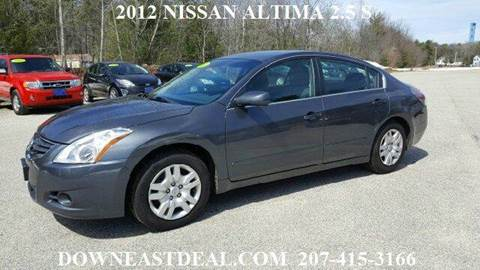 2012 Nissan Altima for sale in South Waterboro, ME