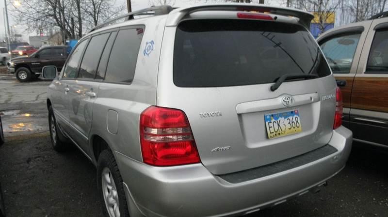 2002 Toyota Highlander Base AWD 4dr SUV - Anchorage AK