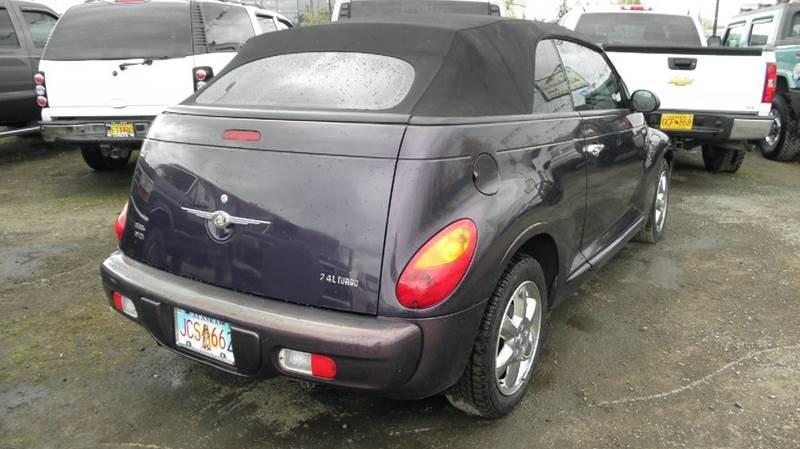 2005 Chrysler PT Cruiser 2dr Touring Turbo Convertible - Anchorage AK
