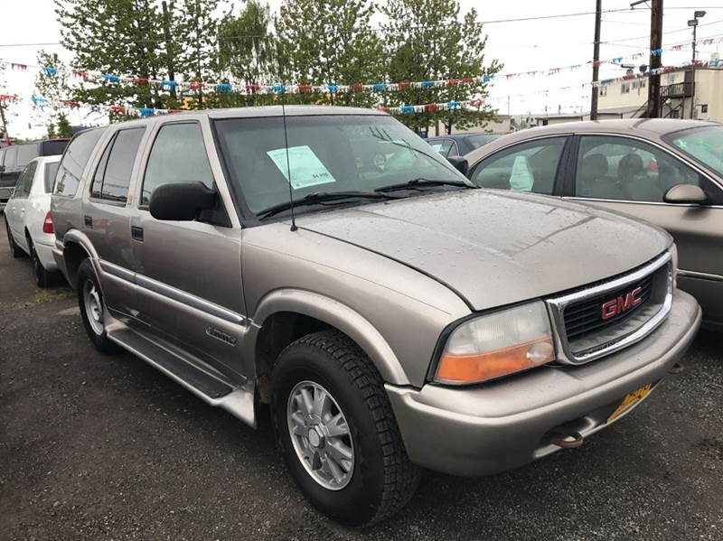 2001 GMC Jimmy SLT 4WD 4dr SUV - Anchorage AK