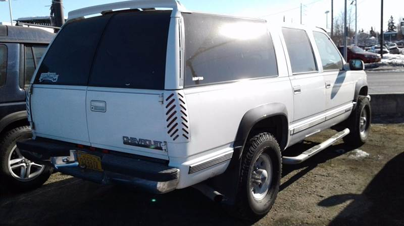 1997 Chevrolet Suburban 4dr K2500 4WD SUV - Anchorage AK