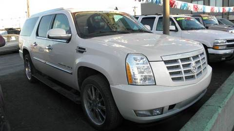 Used 2008 cadillac escalade for sale el paso tx for Fiesta motors el paso tx