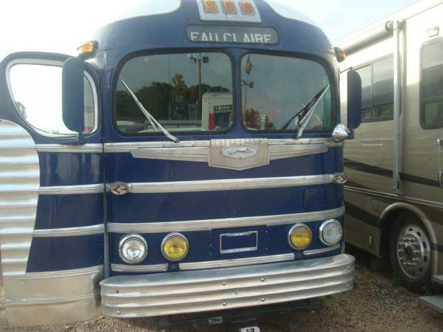 used 1947 greyhound bus bus conversion for sale 1947 motorhome in