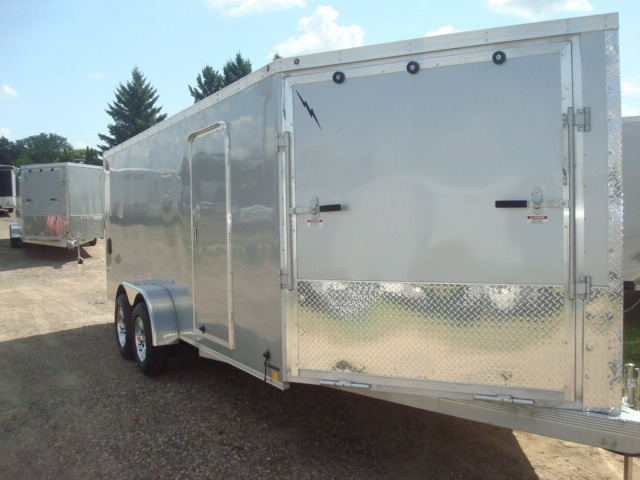 2014 LIGHTNING 7X18 PLUS 5' V-NOSE