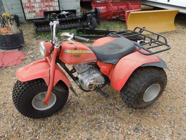 Used 1980 honda 185 3 wheeler for sale for Honda 4 wheeler dealers near me