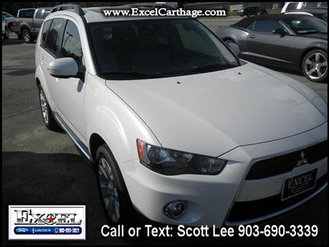 2012 Mitsubishi Outlander for sale in Carthage TX