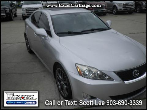 2008 Lexus IS 250 for sale in Carthage, TX