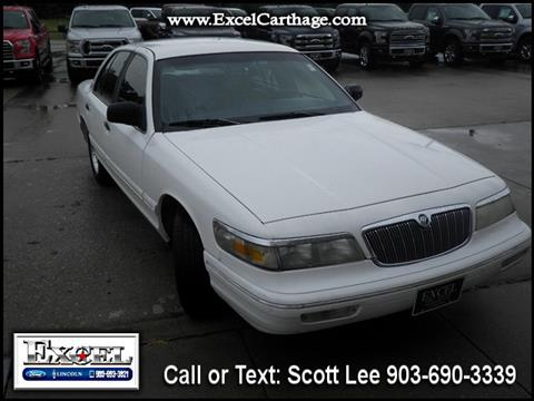 1995 Mercury Grand Marquis for sale in Carthage TX