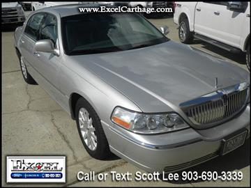 2007 Lincoln Town Car for sale in Carthage, TX